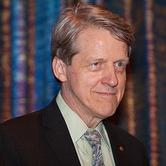 Robert J. Shiller - Nobel Prize Laureate Robert J. Shiller during press conference in Stockholm, December 2013