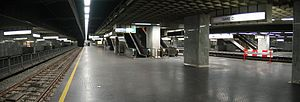 Brussels-North railway station - Image: Noordstation 1