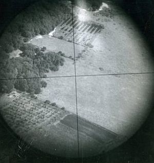 Mary Babnik Brown - Norden bombsight crosshairs