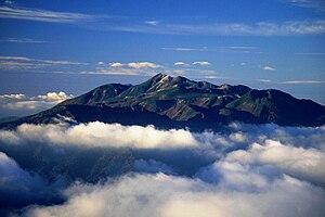 Mount Norikura - Image: Norikuradake from nishiho 1995 10 7