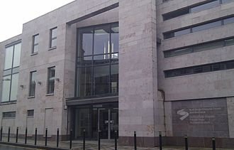 Ireland–United Kingdom relations - The offices of the North/South Ministerial Council on Upper English Street, Armagh