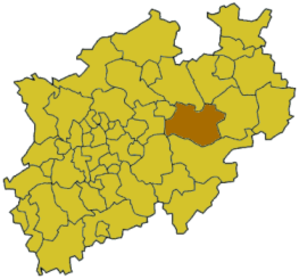 Soest (district) - Image: North rhine w so