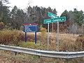 Northern Vermont University directional sign Lyndon VT October 2019.jpg