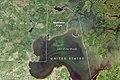 Northwest angle Landsat.jpg