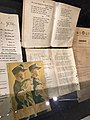 Norway's WW2 Resistance Museum in Oslo (Hjemmefrontmuseet). NS-sanger (Nasjonal Samling songbook), etc. Photo 2017-11-30.jpg