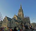 Nottingham public sector pensions strike in November 2011 2.jpg