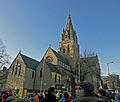 Nottingham public sector pensions strike in November 2011 2.jpg