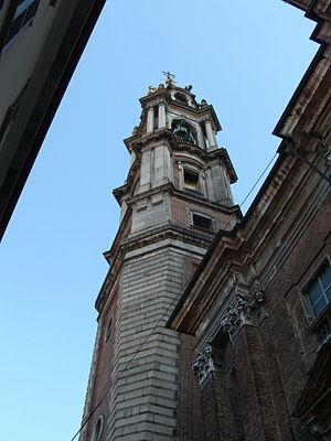 Benedetto Alfieri - Image: Novara Campanile Benedetto Alfieri DSCF0940