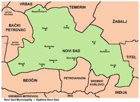 opstina novi beograd mapa Gradska opština Novi Sad — Vikipedija, slobodna enciklopedija opstina novi beograd mapa