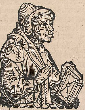 Matheolus Perusinus - Matheolus, from the Nuremberg Chronicles (1493)