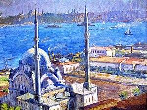Nazmi Ziya Güran - Image: Nusretiye Mosque Guran