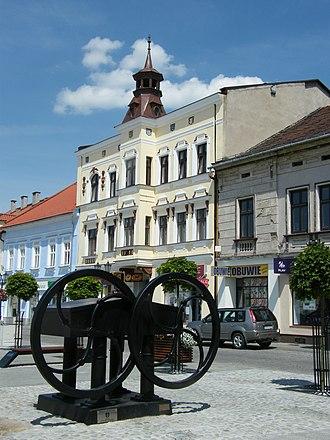 Oświęcim - Old Market Square