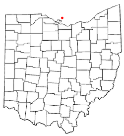 Location of Kelleys Island, Ohio