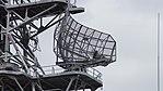 OPS-14C radar on board mast of JS Sendai (DE-232) right front view at JMSDF Maizuru Naval Base July 29, 2017.jpg