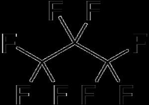 Octafluoropropane - Image: Octafluoropropane