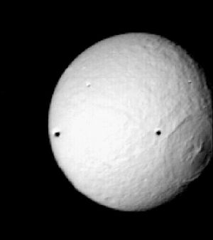 Saturn's moons in fiction - Tethys