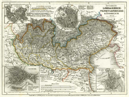 Cartina Lombardia Veneto.Regno Lombardo Veneto Wikipedia