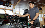 Officer of the watch at the controls of Fugro Discovery (3).jpg