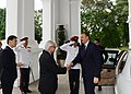 Official welcoming ceremony was organized for Ilham Aliyev in Singapore, 2012 01.jpg