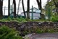 Okonsk Manevychivskyi Volynska-Okonski sources-water flows from the tube.jpg
