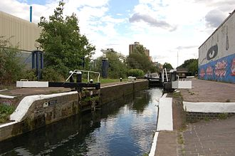 Hertford Union Canal - Hertford Union Bottom Lock No. 3