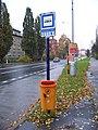 Olomouc, Foerstrova, zastávka Foerstrova, pošta.jpg