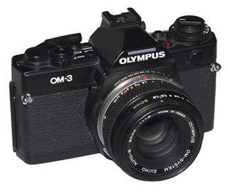 Olympus OM-3 - Olympus OM-3