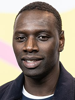 Omar Sy French actor and comedian