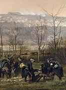 On relève un blessé, fragment du panorama de La Bataille de Champigny.jpg
