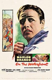 <i>On the Waterfront</i> 1954 film by Elia Kazan