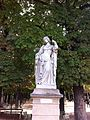 One of the ladies of the Luxembourg Gardens, Paris September 2013.jpg