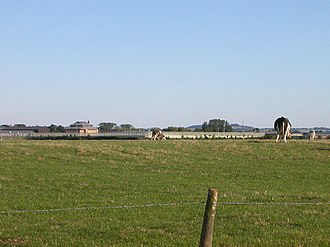Onley (lost settlement) - Open farmland where once stood the village of Onley