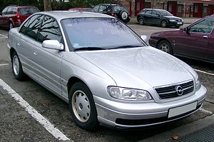 Mid-size car - The full-sized Opel Omega B was marketed in the United States as the mid-sized Cadillac Catera, despite their identical dimensions