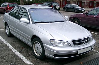 Mid-size car - 1994-1999 Opel Omega: a European executive car, marketed in the U.S. as a mid-size  car (Cadillac Catera)