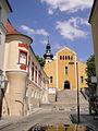 Opole, kościół, ob. par. p.w. Matki Boskiej Bolesnej, poł.XIV, 1701-1708, 1931-1938.JPG