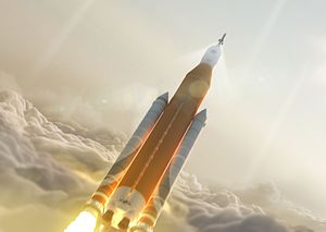 Space Launch System - Artist's rendering of a SLS Block 1