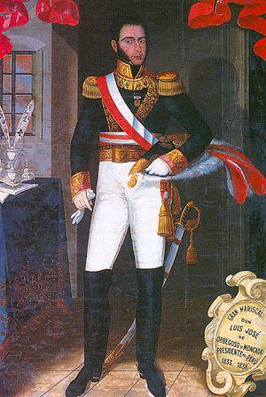 Luis José de Orbegoso - Portrait by José Gil de Castro