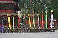 Oriflammes de la procession Hyakumono-Zoroe Sennin Gyoretsu (Shunki reitaisai, Nikko) (41371933030).jpg