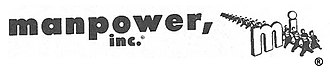 ManpowerGroup - Manpower, Inc. logo in use from 1948 to the mid-1960s