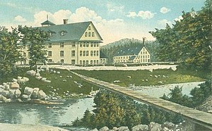 Sanford, Maine - Goodall Mills in 1867