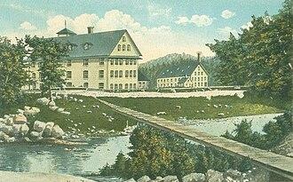 Sanford, Maine - Goodall Mills in 1867