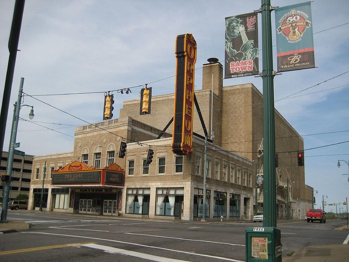 Orpheum Theatre (Memphis) - Wikipedia