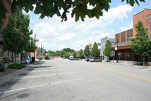Oswego, Illinois - Downtown Oswego