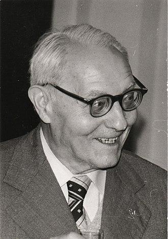 Otakar Borůvka - Image: Otakar Boruvka 1981