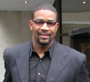 Otis Smith (basketball) - Smith at the Air Canada Centre in April 2008