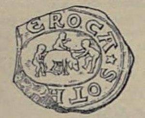 Othon de la Roche - Seal of Othon de la Roche