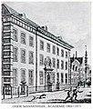 Oude Mannenhuis, Academie 1864-1873.jpg