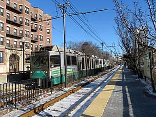 Green Line E branch Boston Massachusetts subway line