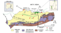 Overview of the major geologic and geographic features on the Alaska North Slope.png