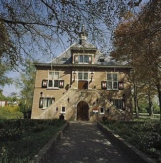 Westvoorne - Former city hall of Oostvoorne